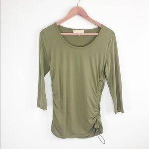 Michael Kors 3/4 sleeve shirt
